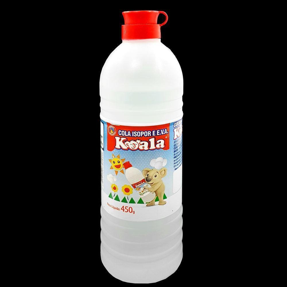 Cola isopor 450gr cx c/12 - Koala