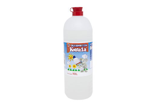 Cola isopor 900gr cx c/12 - Koala