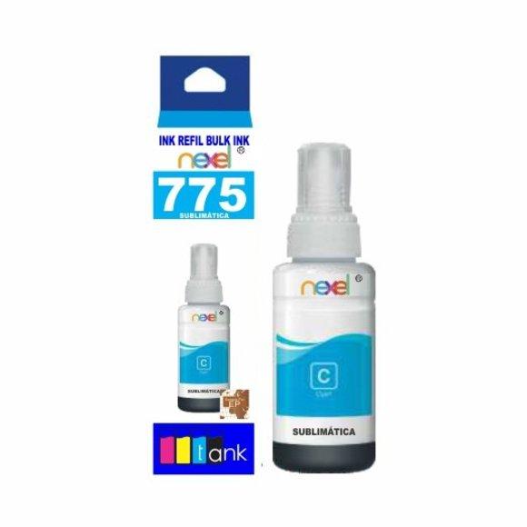 Tinta Sublimática Refil 775 Ciano 100ml - Nexel