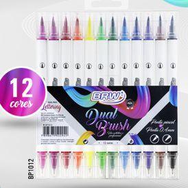 Dual Brush Brw 12 cores - lançamento