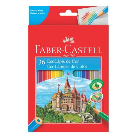 Ecolápis 36 Cores - Faber Castell