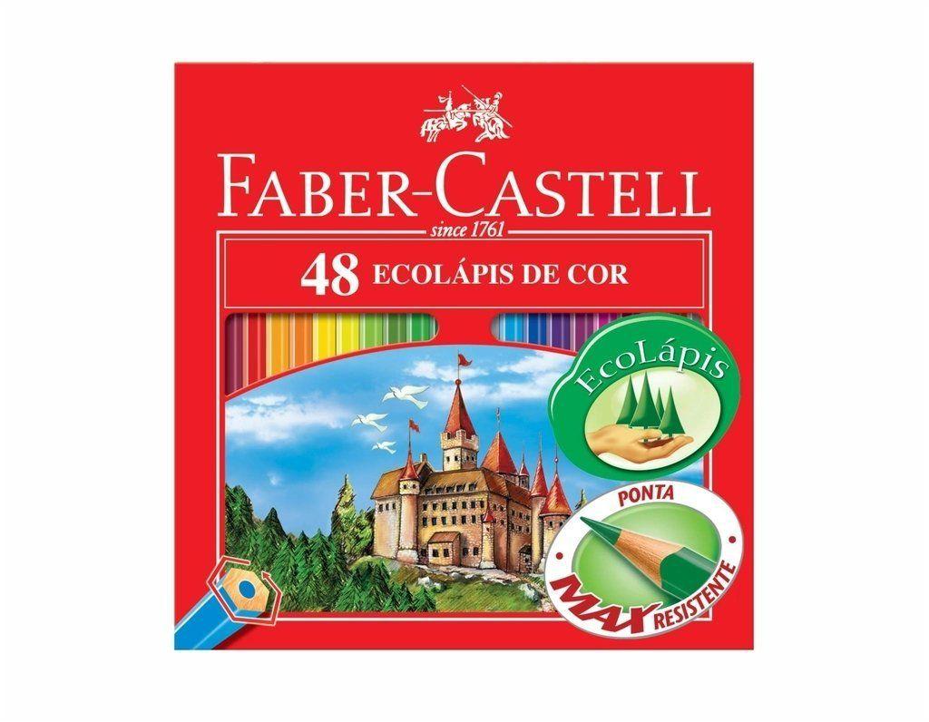 Ecolápis 48 Cores - Faber Castell