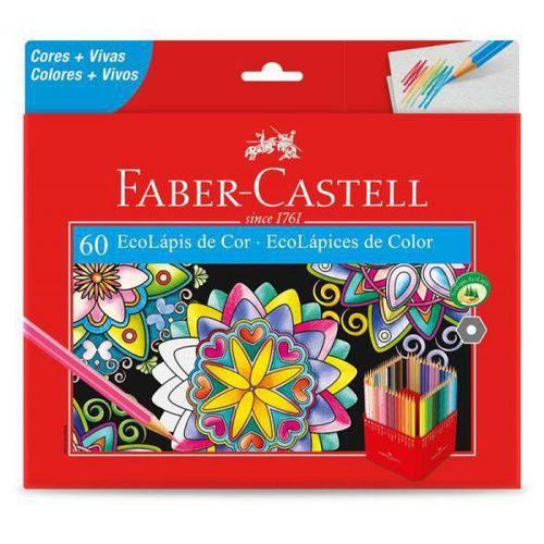 Ecolápis 60 Cores - Faber Castell