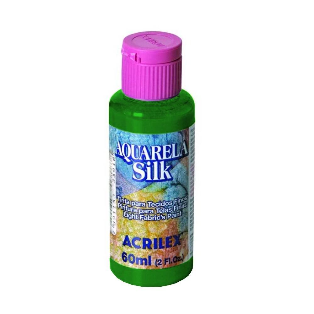 Aquarela silk verde bandeira C/aplicador - Acrilex