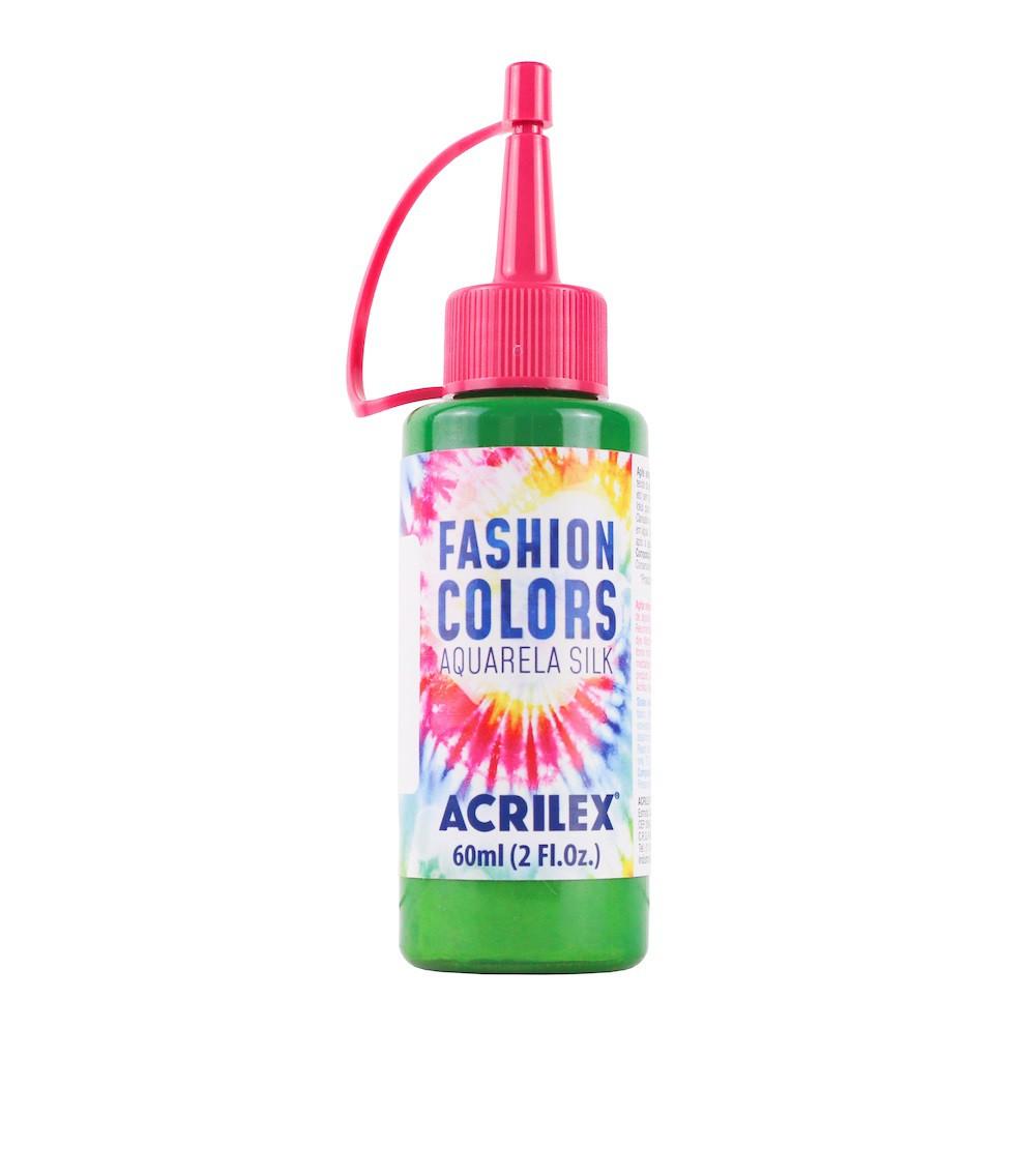 Aquarela silk verde folha C/aplicador - Acrilex