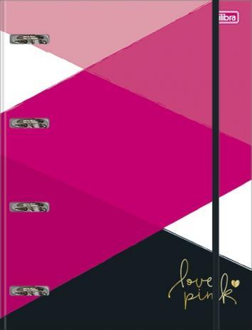 PROMOÇÃO - Fichário Love Pink - GRATÍS 1 REFIL 120GR