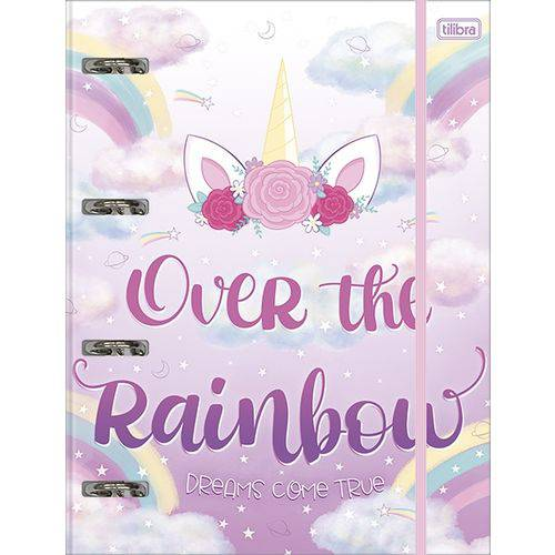 PROMOÇÃO - Fichário Over The Rainbow - GRATÍS 1 REFIL 120GR