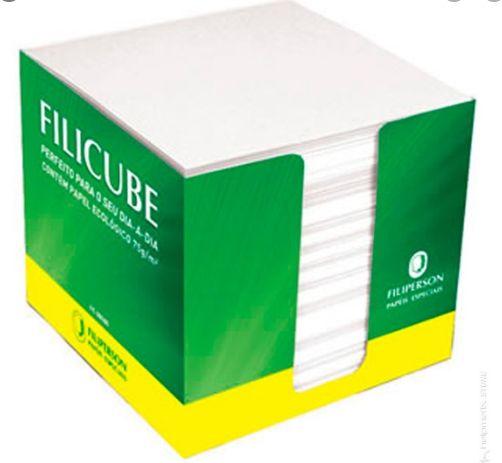 Filicube reciclado Marfim 650fls 90gr - não adesivo