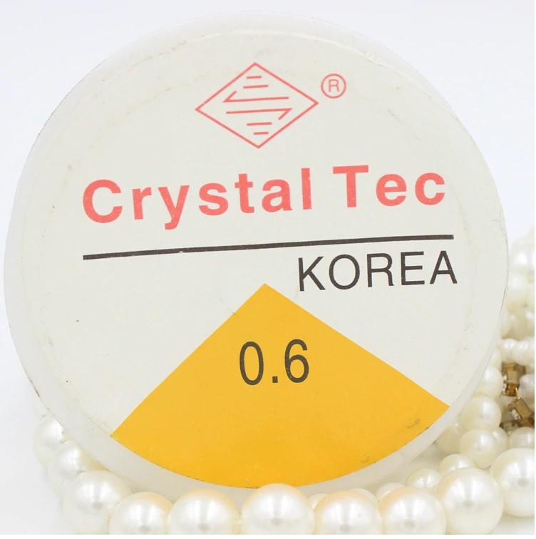 Fio de silicone - Crystal Tec 0.6mm x 15m