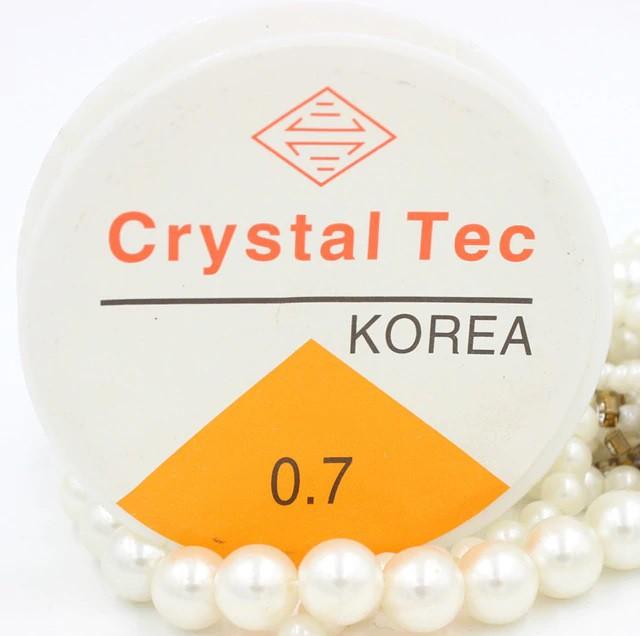 Fio de silicone - Crystal Tec 0.7mm x 15m