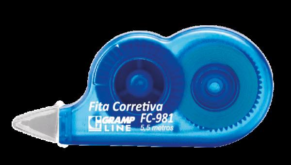 Fita Corretiva Azul - GrampLine