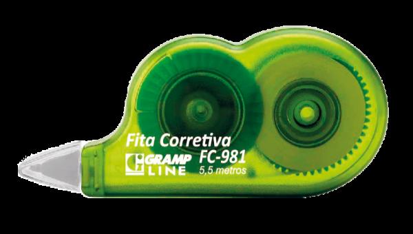 Fita Corretiva Verde - GrampLine