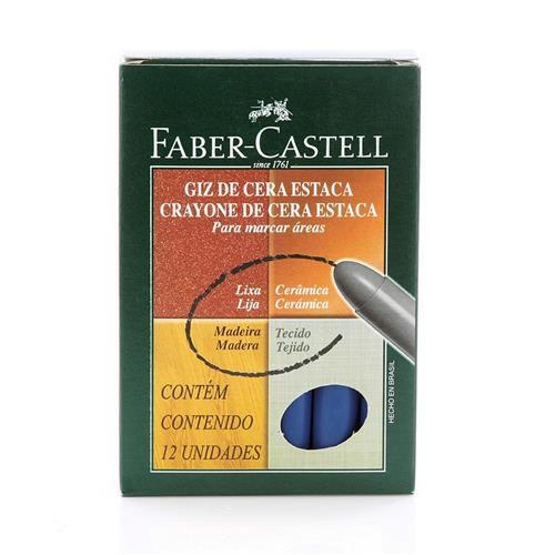 Giz de Cera Estaca - Faber Castell
