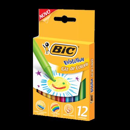 Giz de Colorir Evolution - BIC