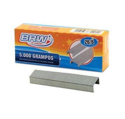 Grampo 26/6 5000 Unidades - BRW
