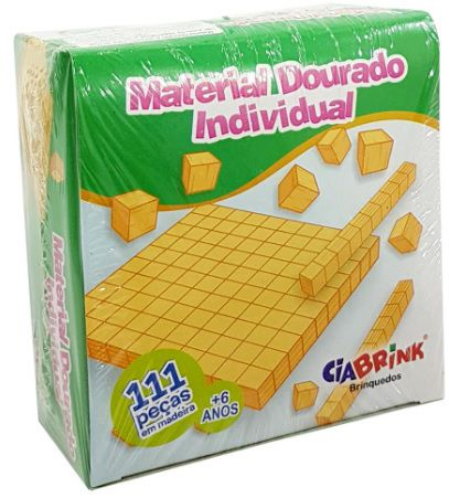 Jogo Material dourado 111 peças -CiaBrink