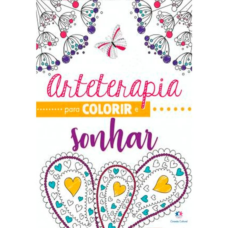 Kit arteterapia para colorir