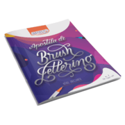 Kit - Dual brush brw + apostila cis e brw brush lettering
