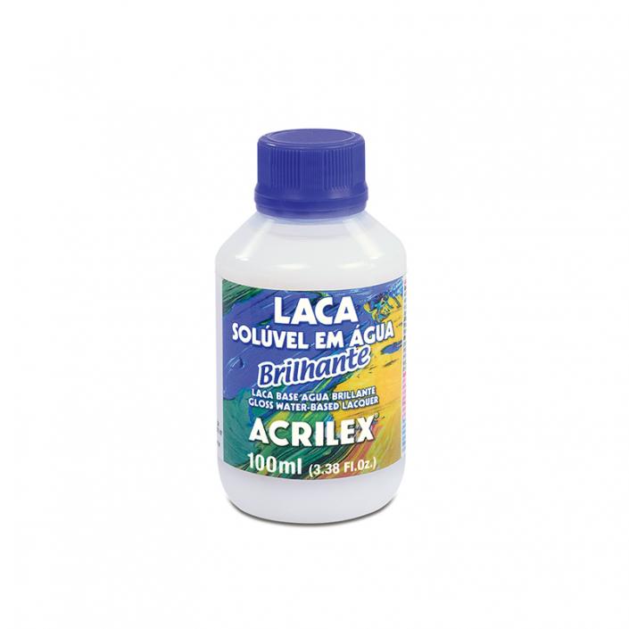 laca solúvel em água brilhante - Acrilex