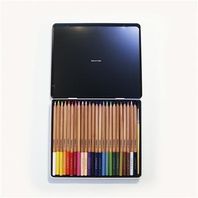 Lápis Aquarelável Estojo Com 24 Cores Artools