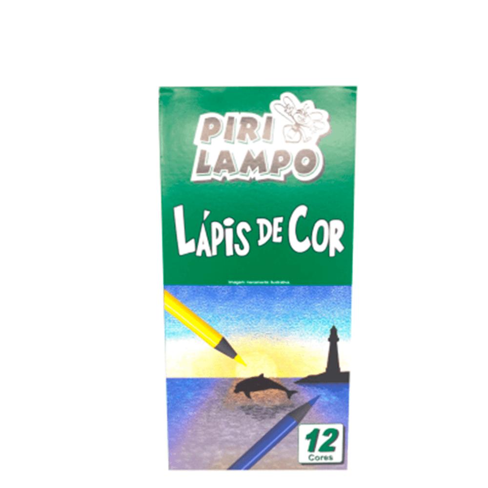 Lápis de Cor 12 Cores - Pirilampo