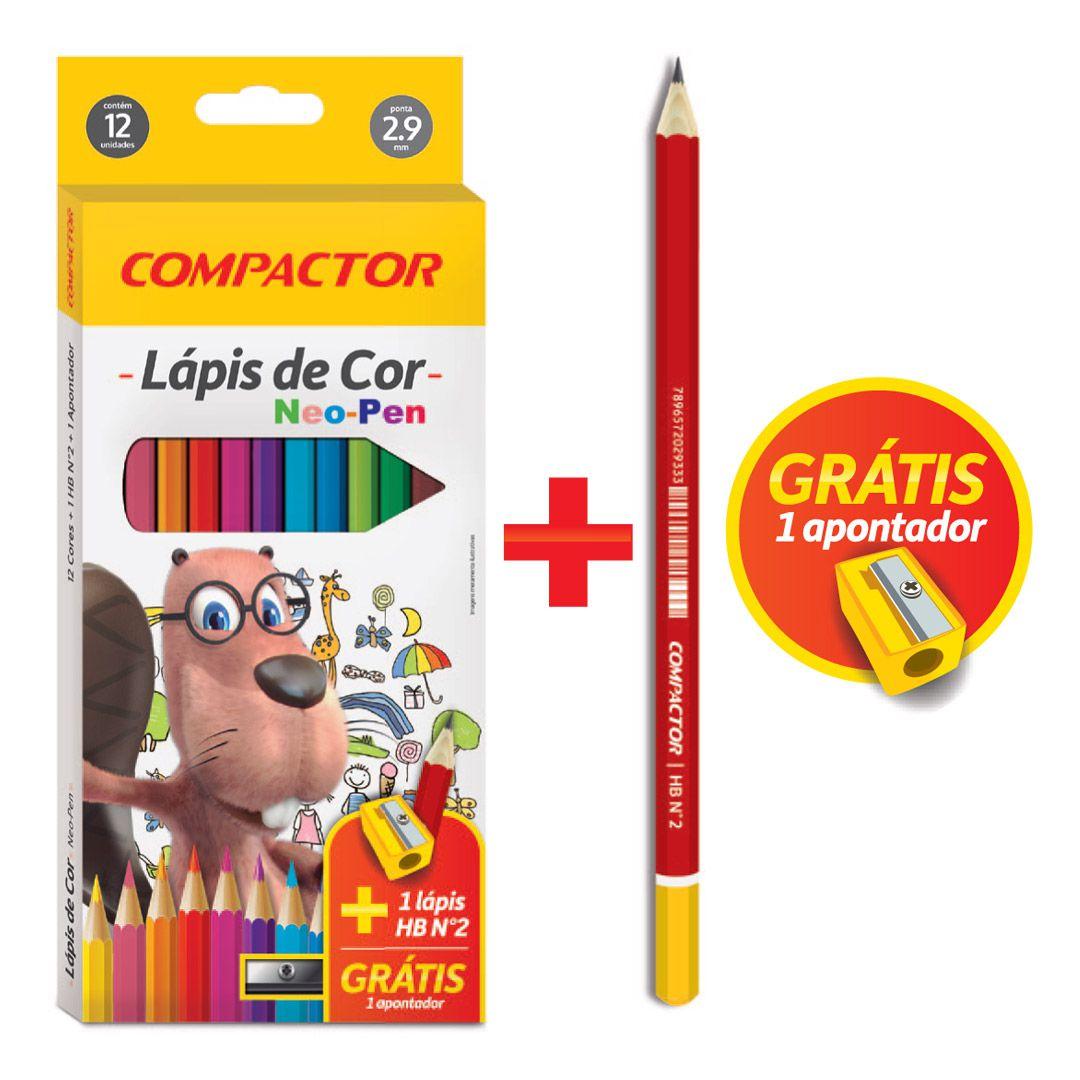 Lápis de Cor Neo-Pen - Compactor
