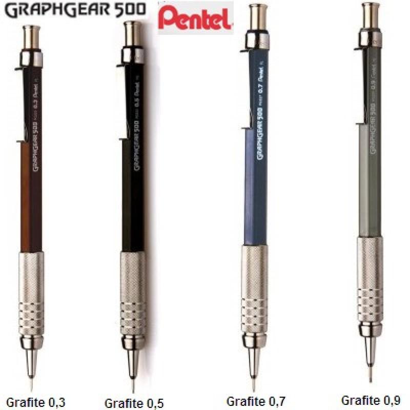 Lapiseira - Pentel Graphgear