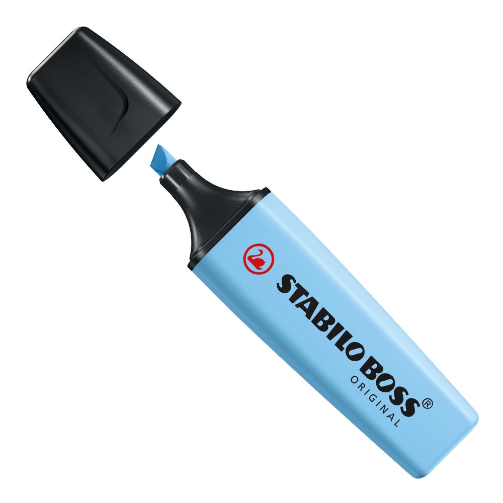 Marca-texto boss azul névoa - Stabillo