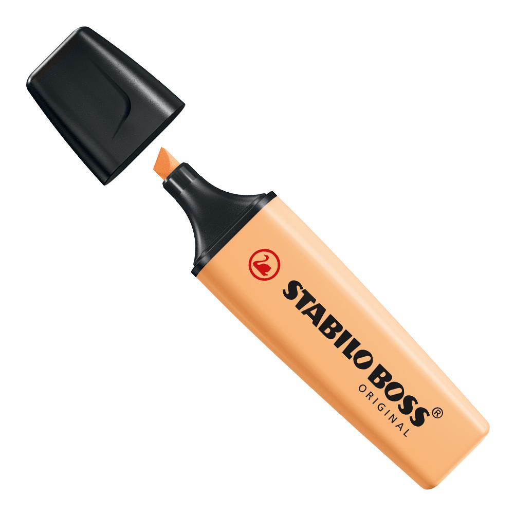 Marca-texto boss laranja palha - Stabillo