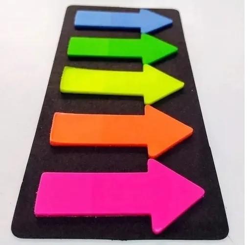 Marcador de Página Em Seta -  5 cores