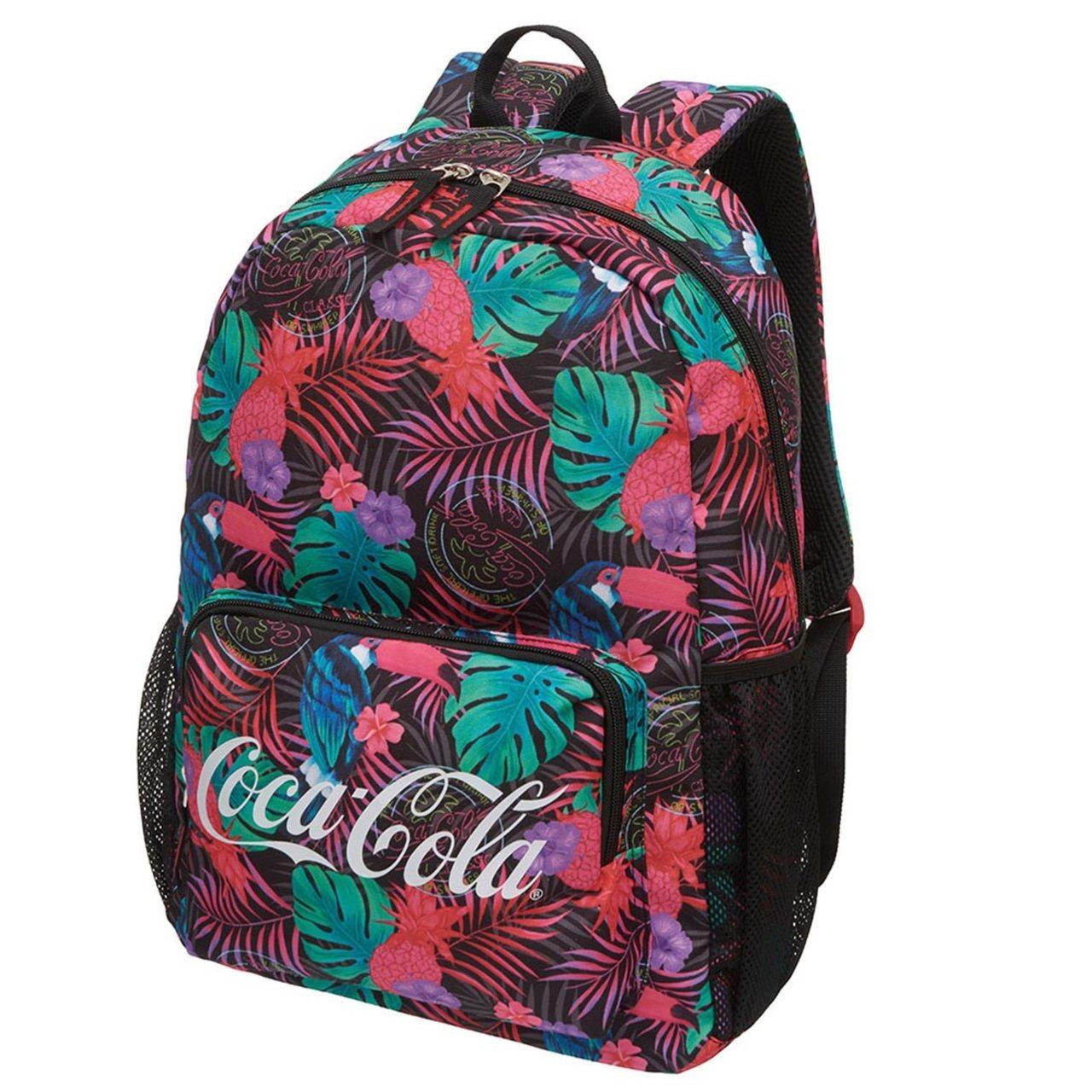 Mochila Coca Cola Selva Neon
