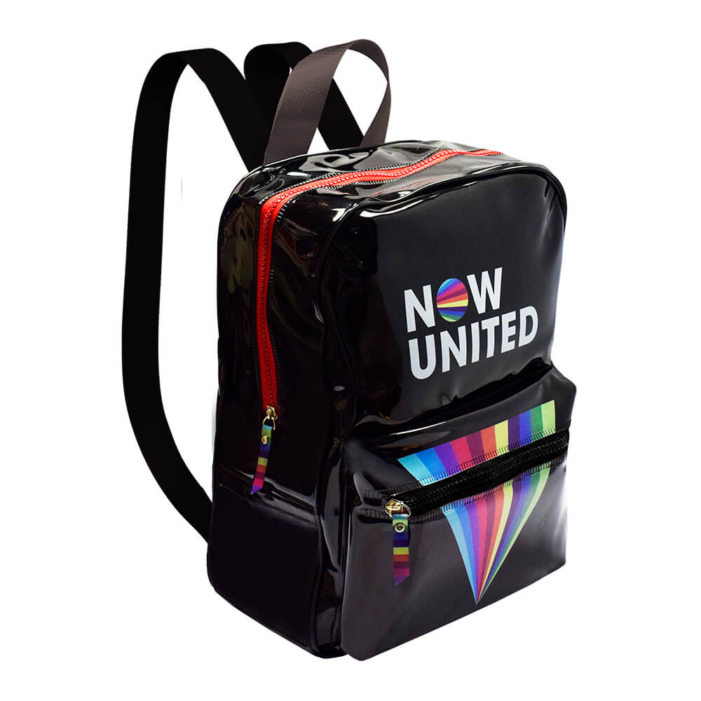 Mochila Now United Preto Cristal - DAC