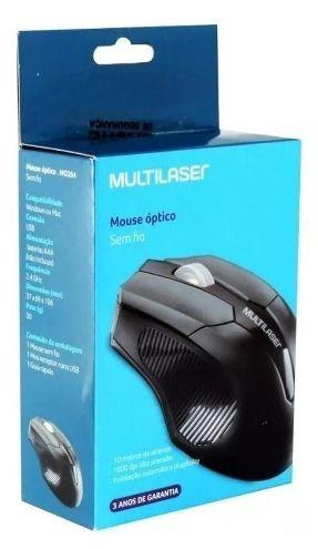 mouse óptico sem fio mo264 USB