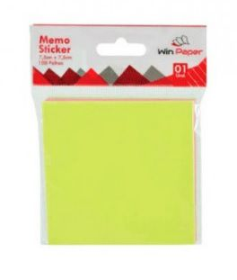 notas adesivas 3 cores 75x75  post-it