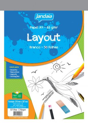 Papel A3 Layout - Jandaia