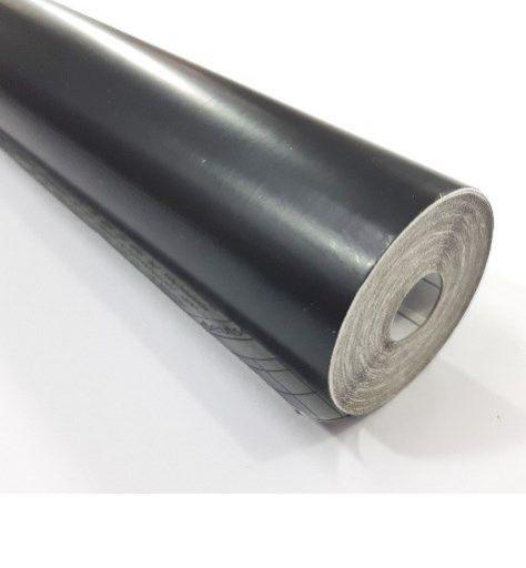 Papel contato Preto fosco rolo c/10m - plastcover