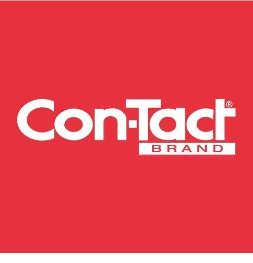 Papel contato transparente rolo c/25m 80micras - Con-Tact