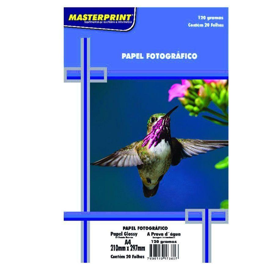 Papel Fotográfico A4 120g - Masterprint