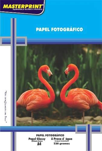 Papel Fotográfico A4 230g 20 folhas - Masterprint
