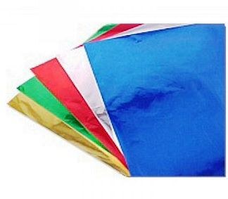 Papel laminado  45x60 -  6 cores