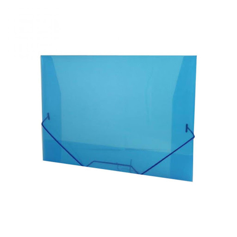 Pasta Aba Elástico Oficio Alaplast Azul 17x20