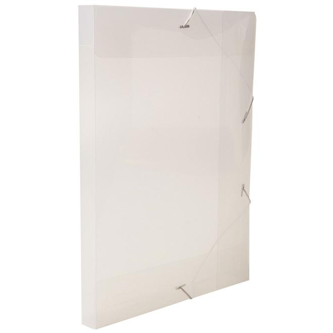 Pasta Aba Elástico Oficio Alaplast Transparente 30x30