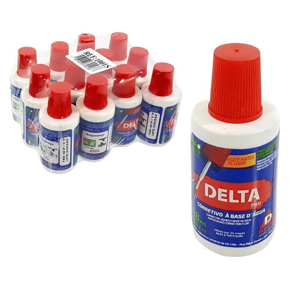 PCT corretivo liquido DELTA com 12 unidades