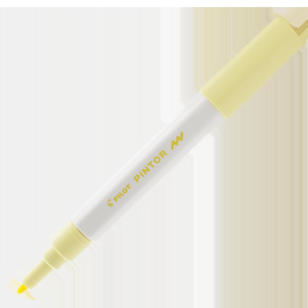 Pintor ponta fina 1.0 (F) Amarelo pastel - Pilot