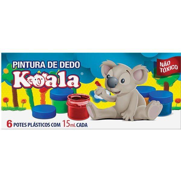 Pintura a Dedo 6 Cires - Koala