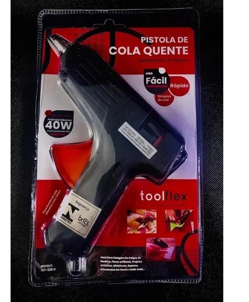 Pistola de Cola quente 40w - ToolFlex