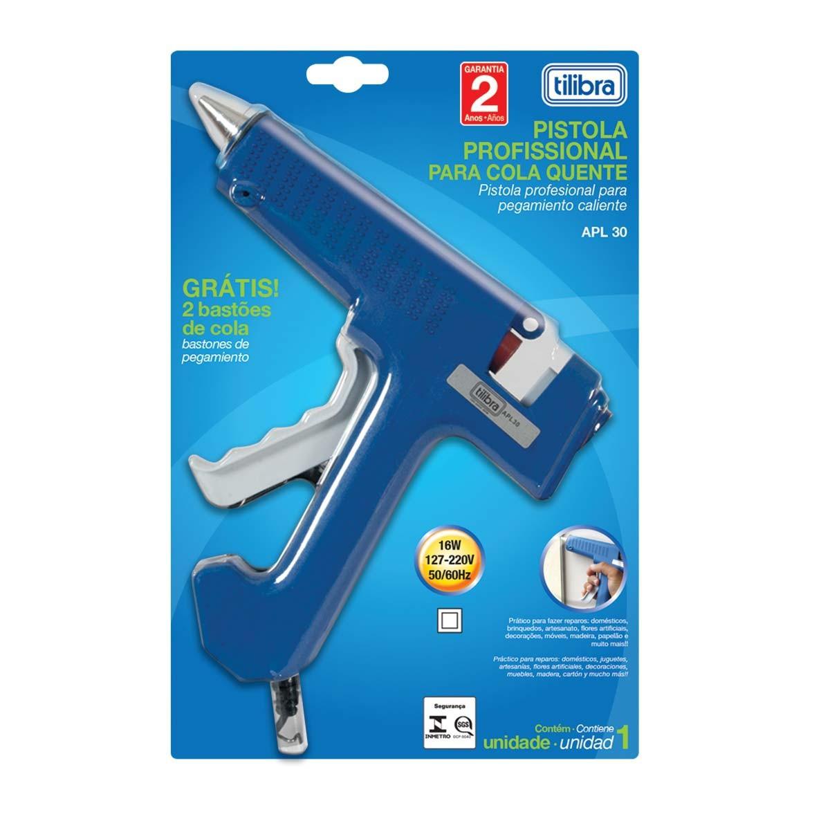 Pistola para cola quente profissional APL 30