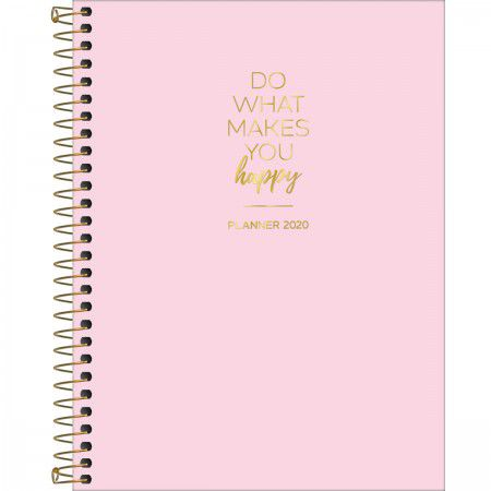 Planner Do What Makes You Happy - Tilibra