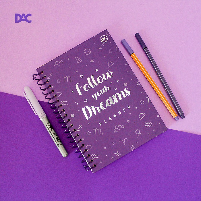 Planner Follow Your Dreams - DAC