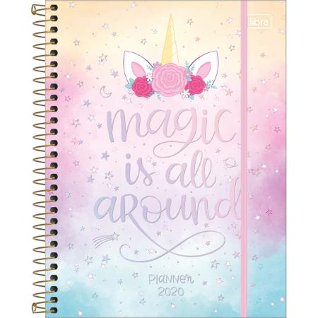 PROMOÇÃO - Planner Magic Is All Around 2020 - Tilibra